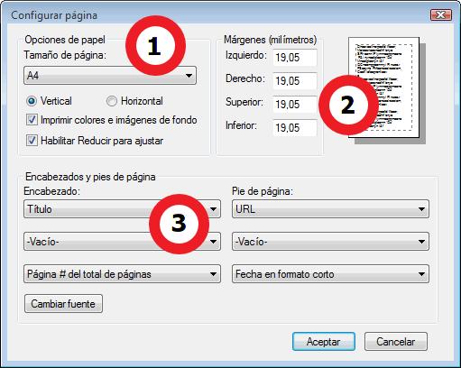 Imprimir desde el navegador Internet Explorer - WebHostal - Gestión ...