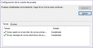 Outlook 2010 cuenta de correo POP3 SMTP - WebHostal