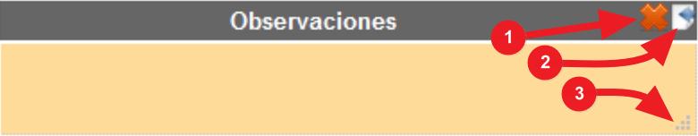 Nueva versión 1.8 - Editar las observaciones de la factura y recuperar las de la reserva